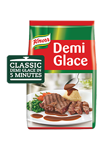 Knorr Demi Glace Brown Sauce Mix (6x1KG) - Knorr Demi Glace delivers same authentic taste within minutes