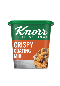 Knorr Professional Crispy Coating Mix [Sri Lanka Only] (6x870G) - Knorr Professional Crispy Coating Mix delivers consistently delicious fried chicken, 3X crispier than scratch