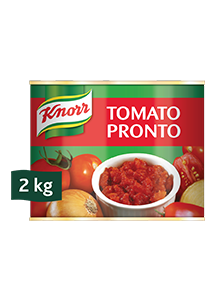 Knorr Tomato Pronto (6x2KG) - Knorr Tomato Pronto uses fresh Italian tomatoes, that makes a great tasty dish every time