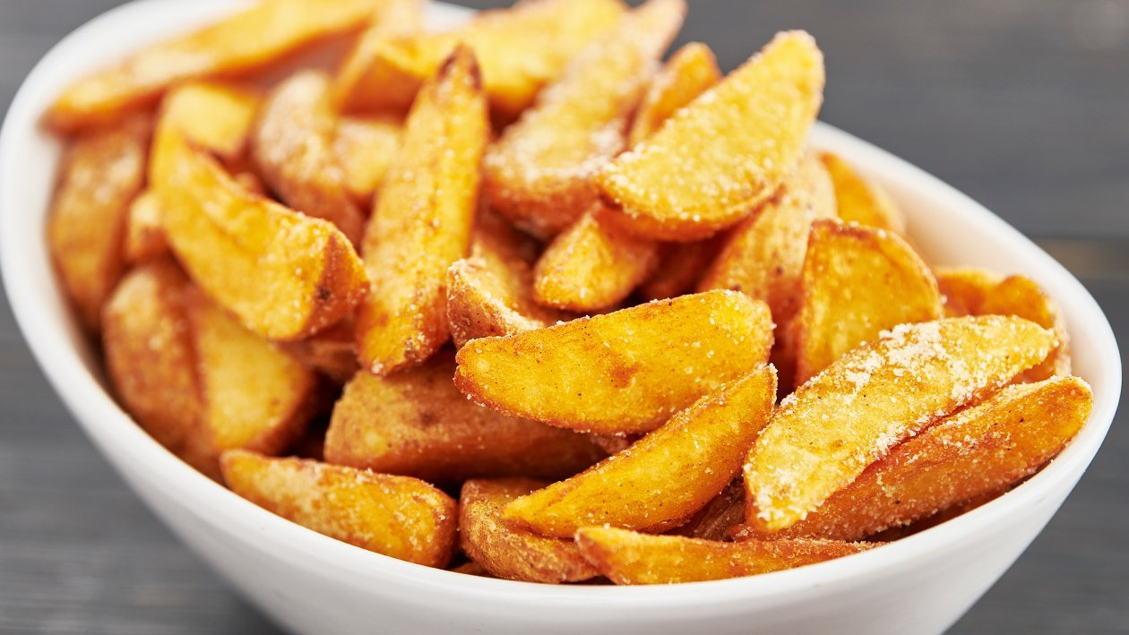 Aromatic Potato Wedges