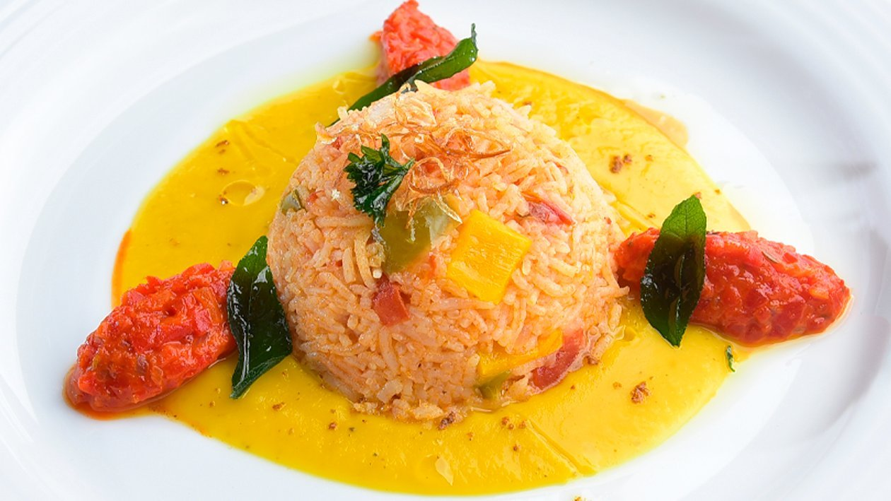 Biryani-Infused Vegetable Rice by Chef Tuan Rizwan