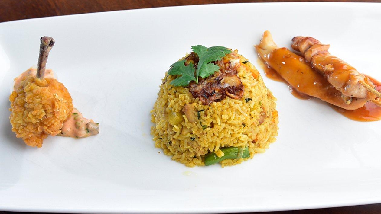 Biryani Rice by Chef Kumarage Srimal