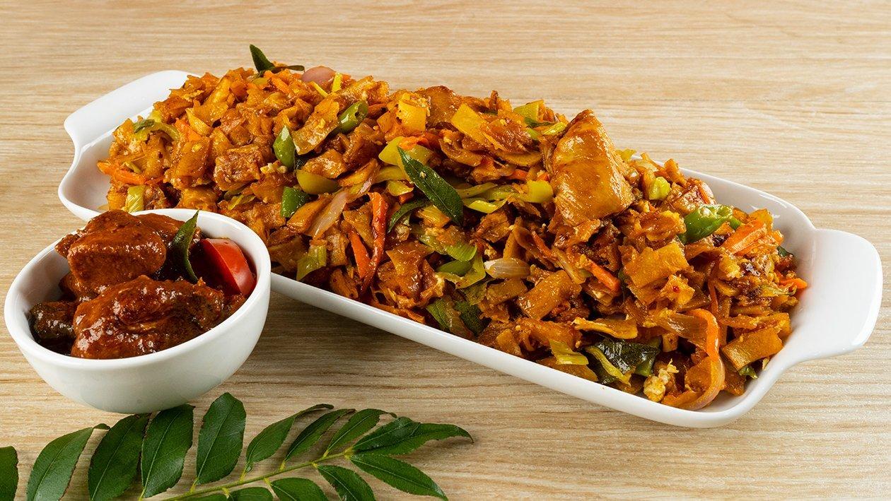 Oriental Spiced Chicken Koottu