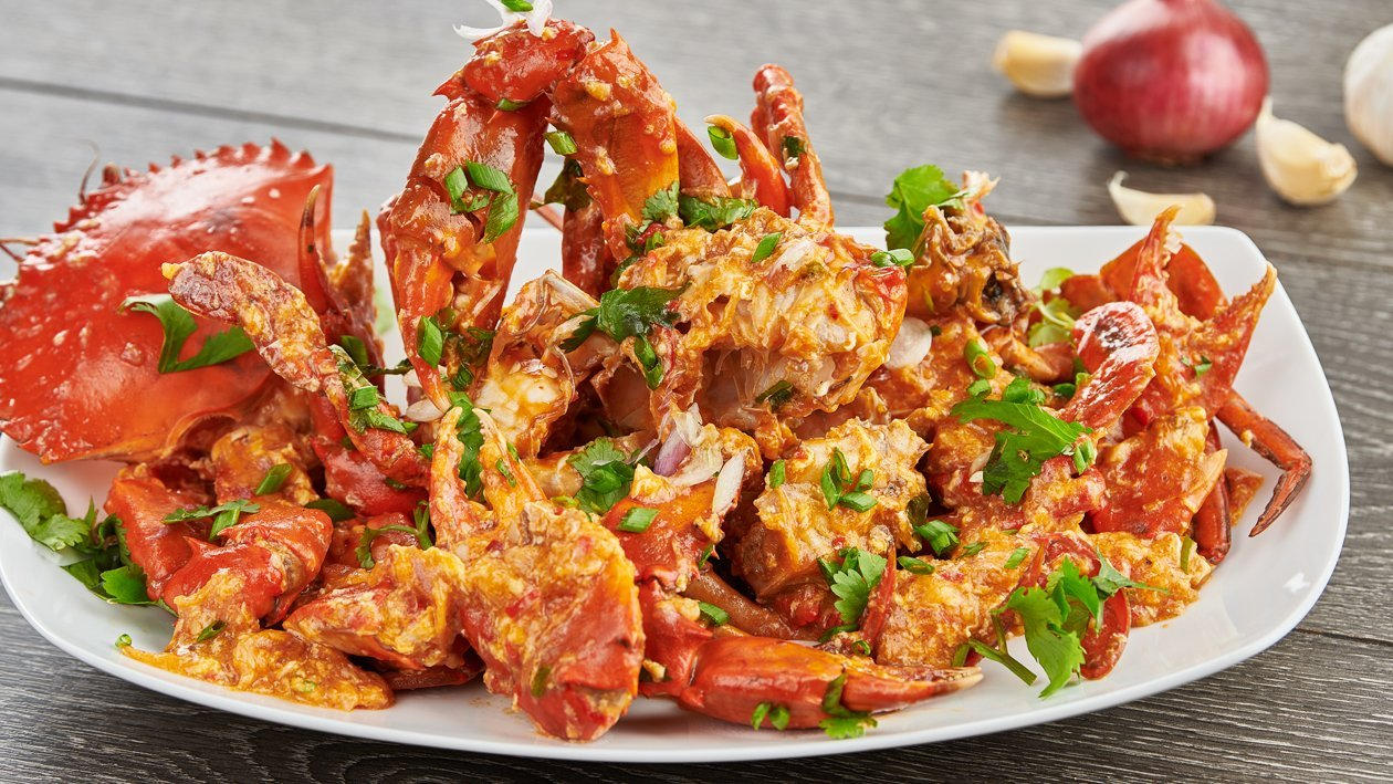 """Singaporean"" Style Chilli Crab"