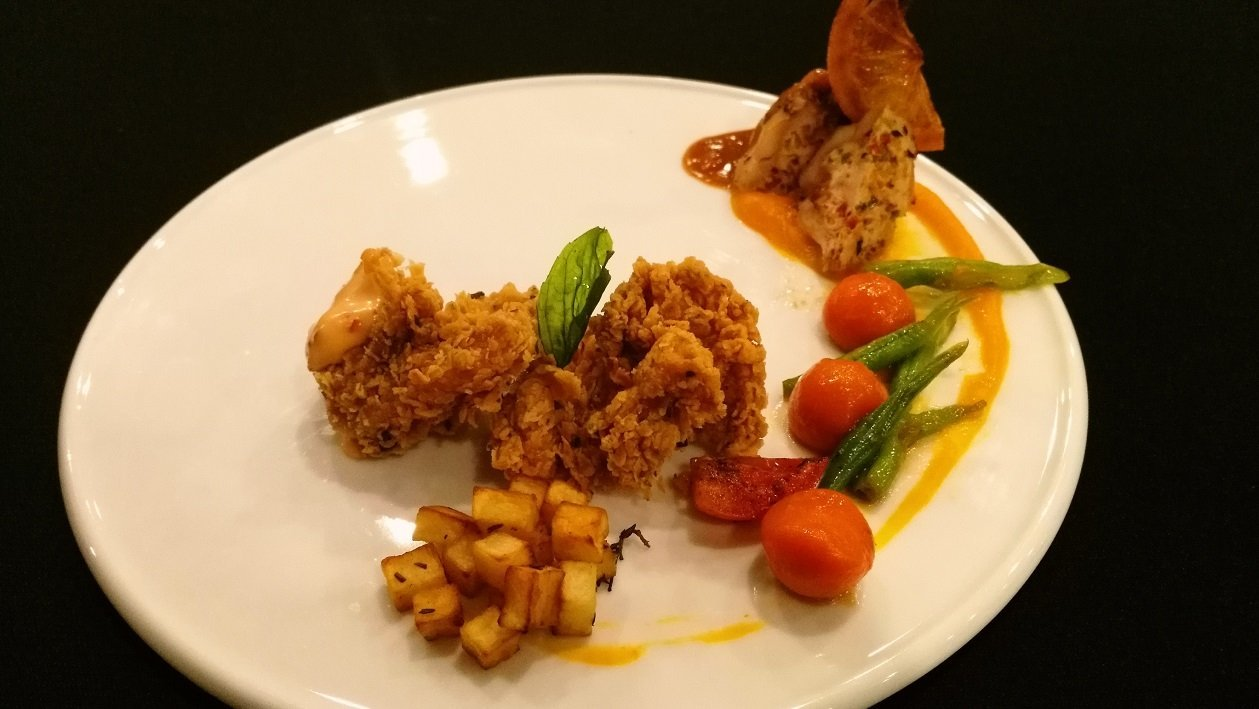 Stuffed Chicken Drumsticks and Nuggets by Chefs Asanka and Sisil