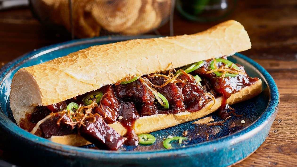Whisky Chipotle BBQ Hoagie