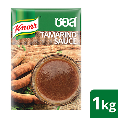 Knorr Concentrated Tamarind Sauce 1kg - Knorr Concentrated Tamarind Sauce gives fresh, authentic taste and aroma of tamarind in one step