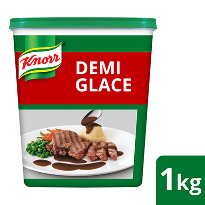 Knorr Demi Glace 1kg - Knorr Demi Glace gives authentic flavor and aroma of beef quickly for your trendy dishes