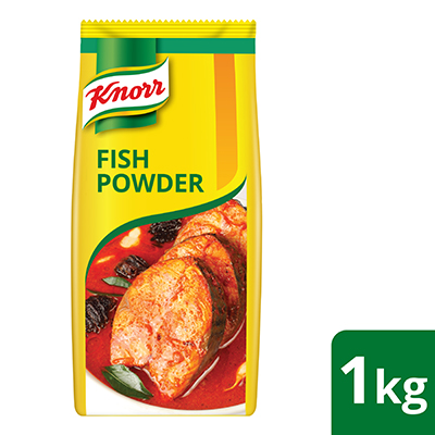 Knorr Fish Powder 1kg - Knorr Fish Powder enhances the unique sweetness of fish and seafood dishes that makes it taste fresh!