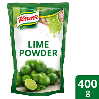 Knorr Lime Seasoning Powder 400g - Made from real Thai limes, Knorr Lime Seasoning Powder gives you the consistent authentic taste and aroma of lime all year round
