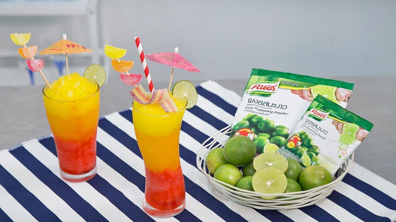 Colourful Summer Lime Frozen
