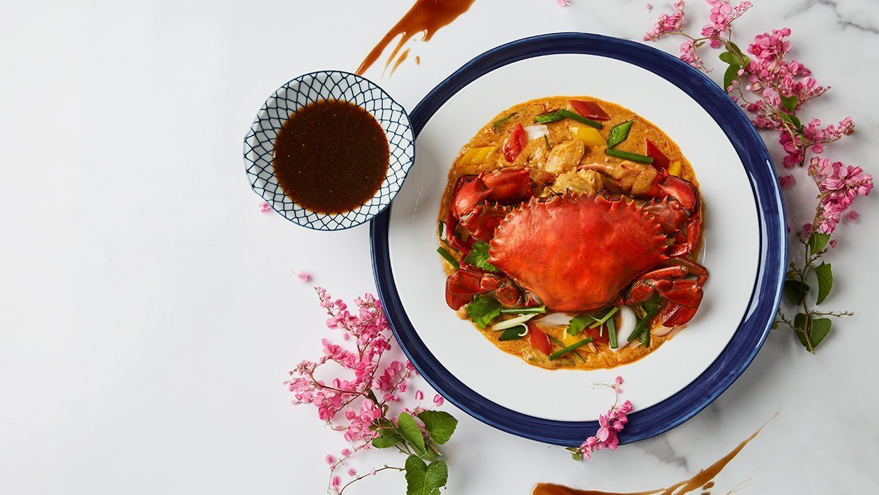 Stir-Fried Crab and Curry Powder