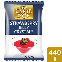 Carte d'Or Strawberry Flavoured Jelly Crystals 440g