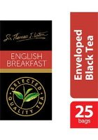 Sir Thomas Lipton English Breakfast Envelope Teabags 2.4g