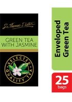 Sir Thomas Lipton Green Tea with Jasmine Envelope Teabags 2g