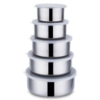 Stainless steel Bowl 5pcs Set