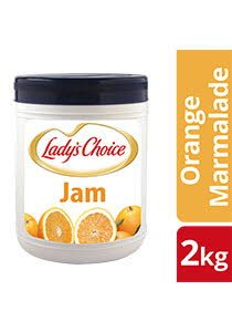 Lady's Choice Orange Marmalade Jam 2kg -