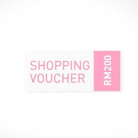 RM200 Cash Voucher