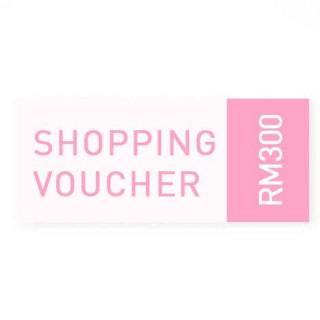 RM300 Cash Voucher -