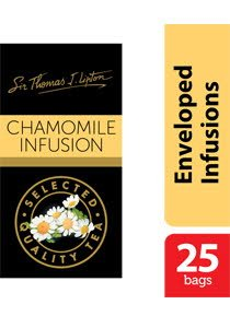 Sir Thomas Lipton Chamomile Envelope Teabags 1g -