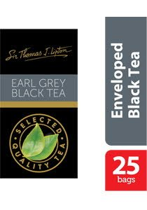 Sir Thomas Lipton Earl Grey Envelope Teabags 1g -