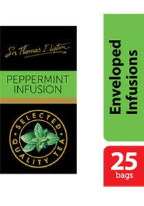 Sir Thomas Lipton Peppermint Envelope Teabags 1g -