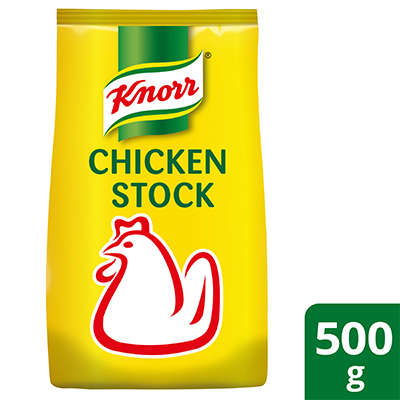 Knorr Chicken Stock 500g - Knorr Chicken Stock brings out the best flavours of natural ingredients because of its natural chicken umami.