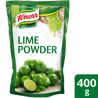 Knorr Lime Flavoured Powder 400g - Knorr Lime Powder delivers refreshing and real taste of fresh lime in every spoonful.