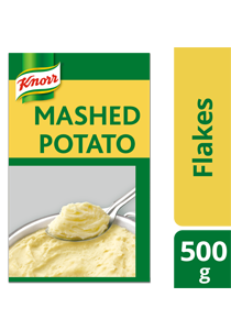 Knorr Mashed Potato 500g - Knorr Mashed Potato is an easy to use product that gives you consistently great tasting mashed potatoes every time.