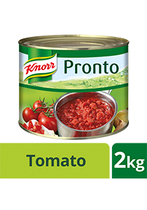 Knorr Pronto Italian Tomato Sauce 2kg - Knorr Pronto Italian Tomato Sauce consistently delivers great taste because it is made from real Italian tomatoes.