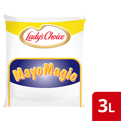 Lady's Choice Mayo Magic 3L - Lady's Choice Mayo Magic is a mayo specially formulated for burgers with a taste diners will love