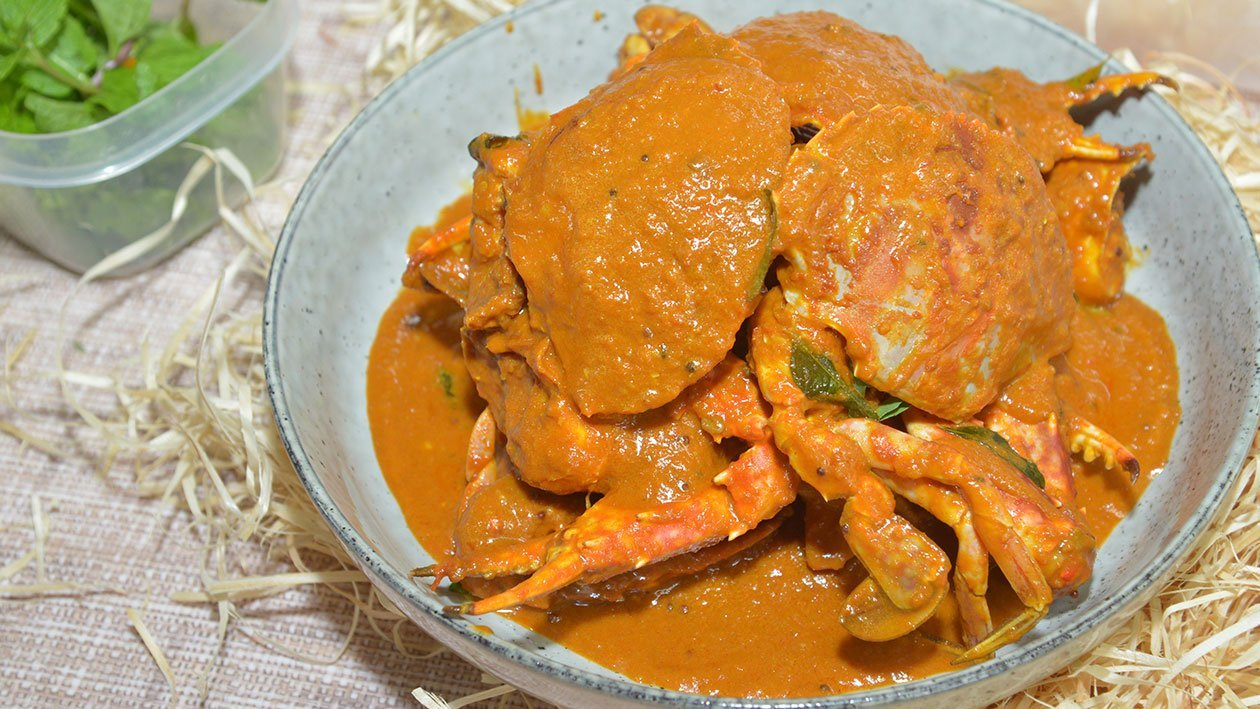 Finger Licking, Crab Curry!