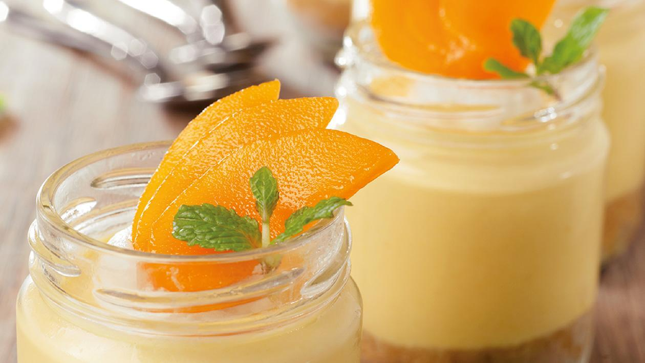 Mango Lime Cheese Cake Mousse