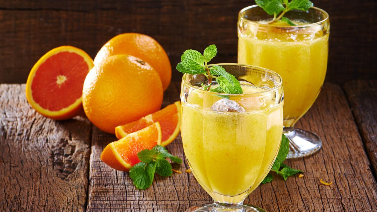 Orange Marmalade Smoothies