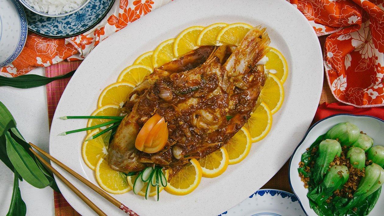 Oriental Steamed Fish: Jiang Zheng Talapia