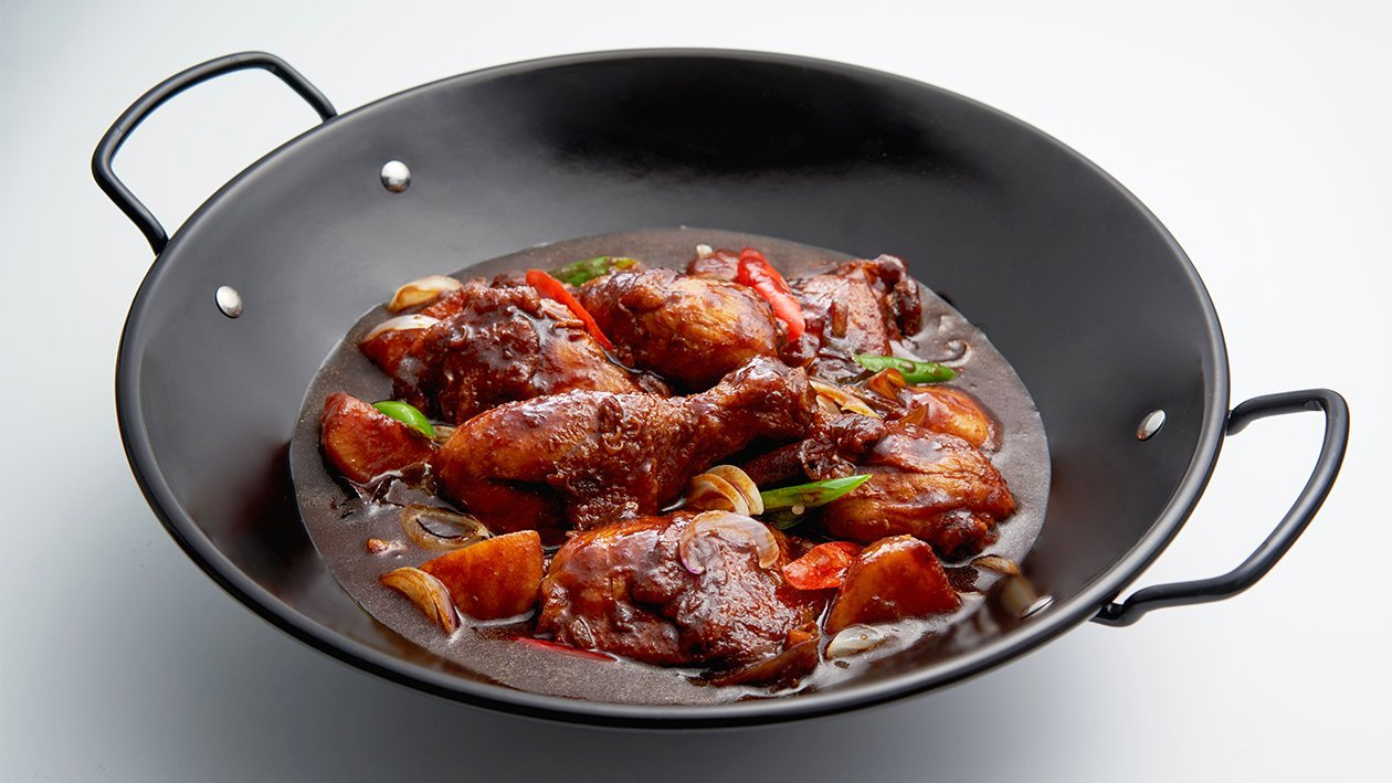 Stir Fry Chicken with Soy Sauce
