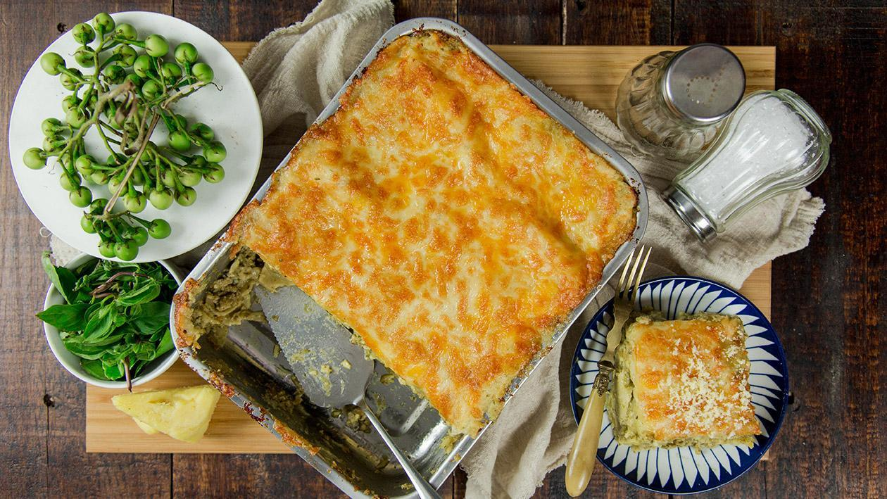 Thai Green Curry Lasagna