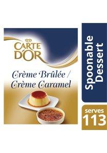 CARTE D'OR Crème Caramel/Crème Brûlée Dessert Mix 1350 g -
