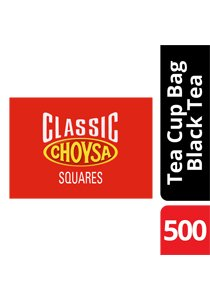 CHOYSA Square Tea Bags 500's -