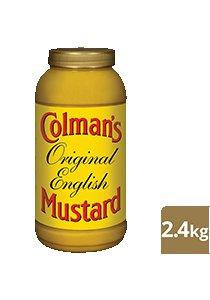 COLMAN'S Original English Mustard 2.4 kg/2.25 L jar -