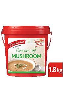 CONTINENTAL Professional Gluten Free Cream of Mushroom Soup Mix 1.8kg -