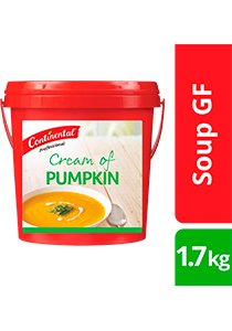 CONTINENTAL Professional Gluten Free Cream of Pumpkin Soup Mix 1.7kg