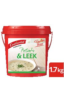 CONTINENTAL Professional Gluten Free Potato & Leek Soup Mix 1.7kg -