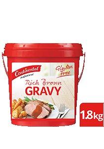 CONTINENTAL Rich Brown Gravy Gluten Free 1.8kg -