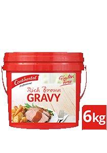 CONTINENTAL Rich Brown Gravy Gluten Free 6kg -