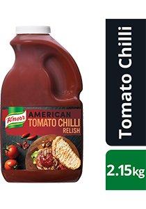 KNORR American Tomato Chilli Relish GF 2.15kg -
