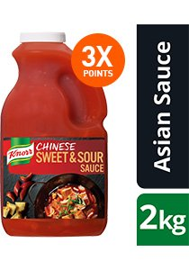 KNORR Chinese Sweet & Sour Sauce GF 2kg -