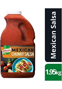 KNORR Mexican Chunky Salsa Mild GF 1.95kg -