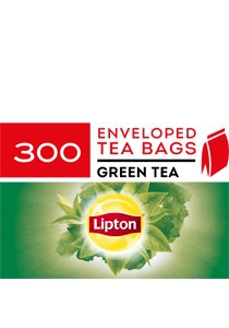 LIPTON Envelope Green Tea  300's -