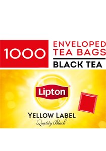LIPTON Envelopes Quality Black 1000's